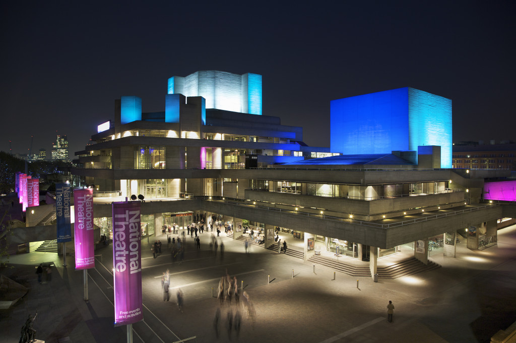The National Theatre. Photograph: Paul Greenleaf